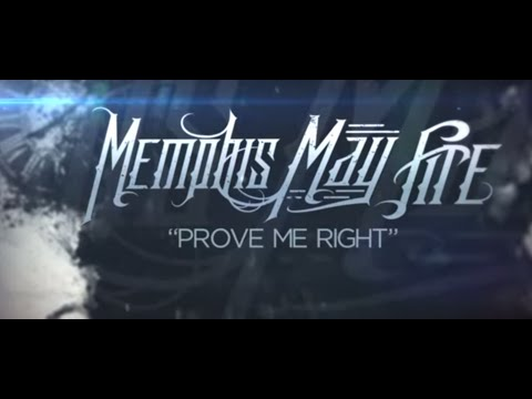 Memphis May Fire - Prove Me Right (official Music Video) video