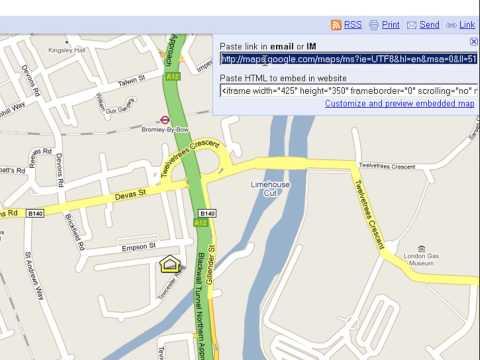 Google My Maps Demonstration