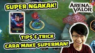 Superman KOCAKK Autowin! Begini Wombo Combonya! - Arena of Valor