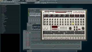 Seal-Killer remade as patterns in FL studio