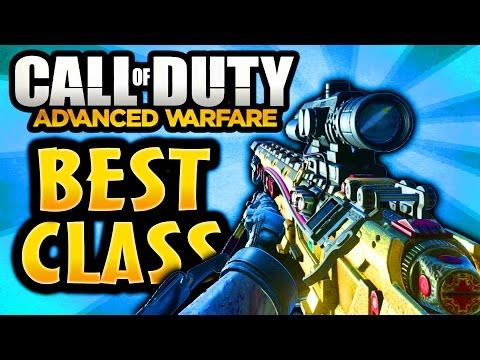COD Advanced Warfare: Best Quickscoping & Sniping Class! Quick Scope Sniper Setup (Call of Duty AW)