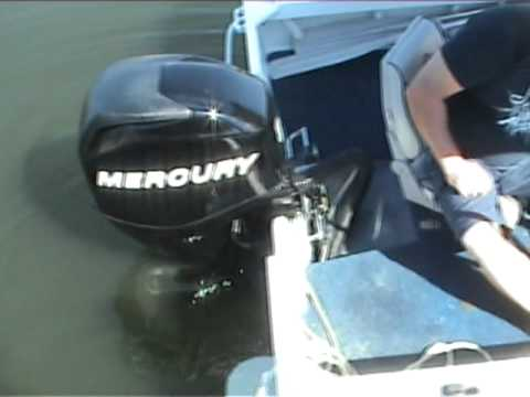 mercury 2009 60 hp 4 stroke smokey start up