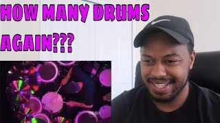 REACTING TO NEIL PEART FROM RUSH DRUM SOLO
