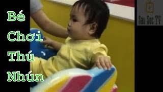 Tổng hợp bé chơi thú nhún P1 - Nhạc thiếu nhi Youtube | SauSoc TV