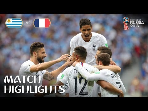 Uruguay v France - 2018 FIFA World Cup Russia™ - Match 57