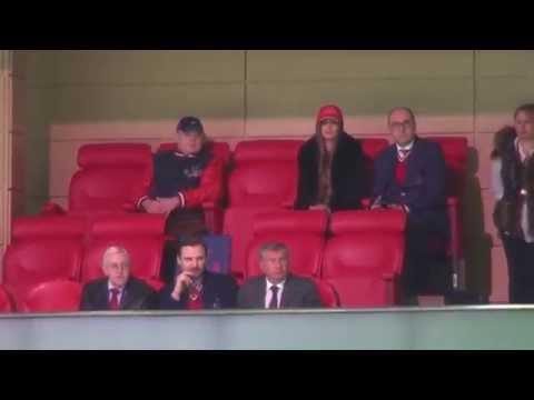 Как болеет VIP-ложа ЦСКА. Реакция на гол СКА
