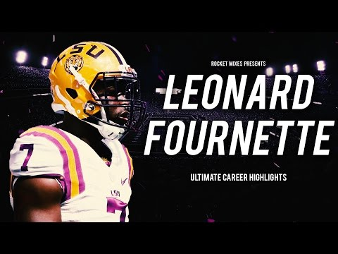 Leonard Fournette Lsu Rb Ultimate Career Highlights