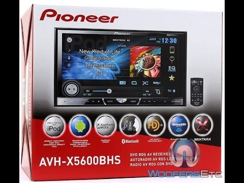 Best Pioneer Deck 2014 - AVH-X5600BHS Review