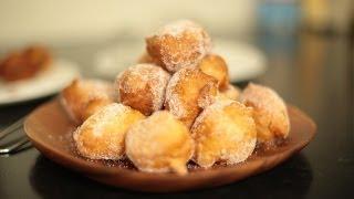 Recette des croustillons ou beignets au sucre super faciles et rapide