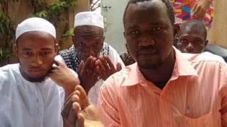 Dr. Moufti DEME, chez le grand Imam de Ouagadougou, Alhamdoulilaye!