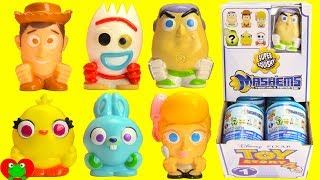 Toy Story 4 Forky, Woody, Buzz Lightyear Mashems Full Set