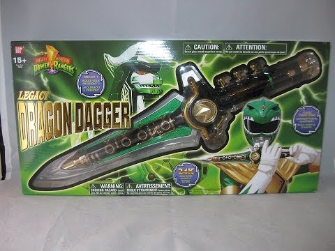 Legacy Dragon Dagger Review (Mighty Morphin Power Rangers)