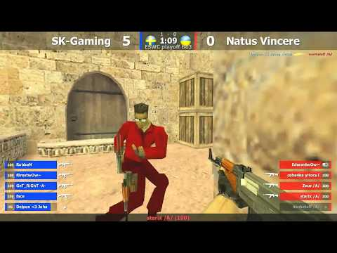 ESWC Grand Final : Na`Vi vs. SK @ dust2