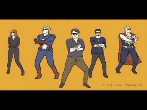 [PARODY] Gangnam Avengers