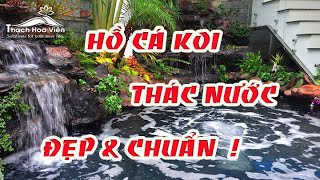 Thác Nước Hồ Koi nhà Anh Tuấn