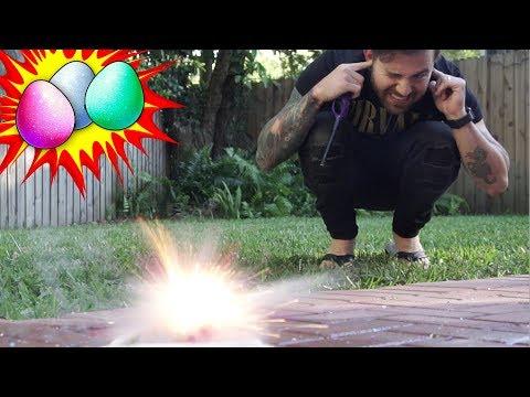 DIY Glitter Easter Egg Experiment!
