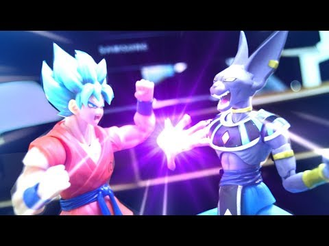 Dragon Ball Stop motion - Goku VS Beerus