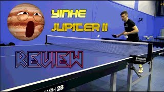Review Yinhe Jupiter II - table tennis experts