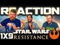 Star Wars Resistance 1x9 REACTION!!