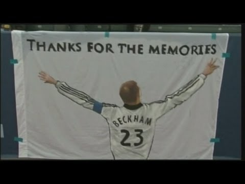 Reacting to David Beckham's retirement