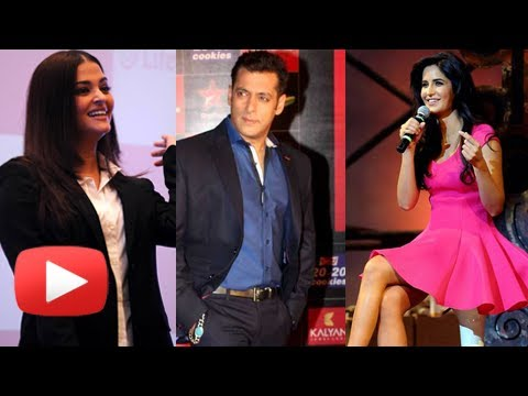 Watch Aishwarya Rai, Katrina Kaif Blush When Asked About Salman Khan video