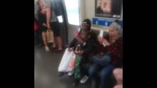 Arro goes crazy on BART ALMOST gets caught up
