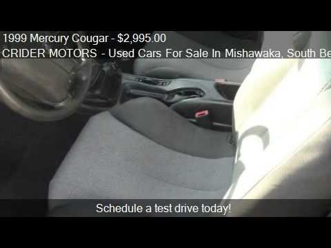 1999 Mercury Cougar V6 - for sale in Mishawaka, IN 46545