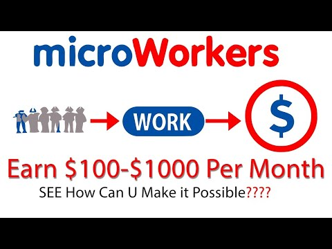 MicroWorkers Review - Make Money Doing Small Job Tasks Online