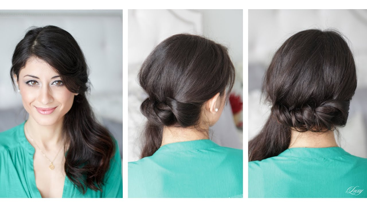 Brilliant Inspired Side Pony This Is A Full Side Ponytail It Is Twisted