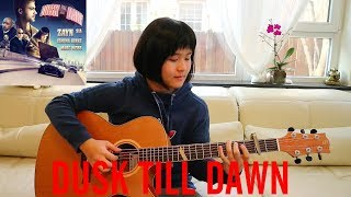 Dusk Till Dawn - ZAYN ft. Sia (fingerstyle guitar cover) Free Tabs