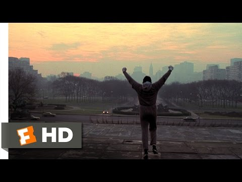 Rocky (8/10) Movie CLIP - Training Montage (1976) HD