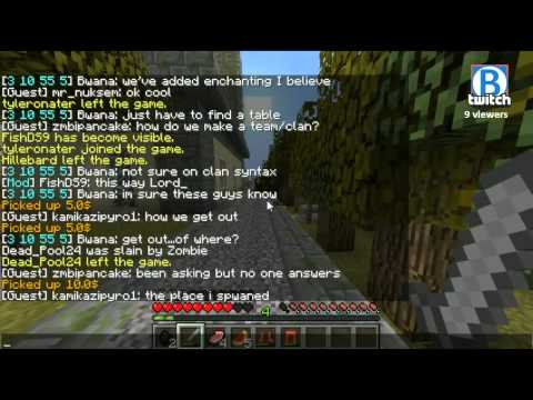 Minecraft Pandemic - PUBLIC STRESS TEST - pandemic.bwana.tv gogogog! - 1 / 7