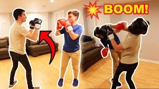 BOXING MY SCHOOL BULLY! *CRAZY BRAWL*