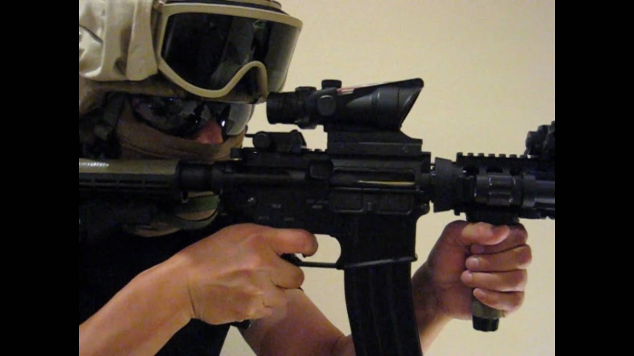 TOP M4a1 Shell Ejecting Airsoft Gun YouTube