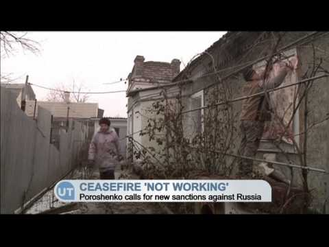 Ceasefire 'Not Working': Poroshenko calls for new Russia sanctions as militants violate truce