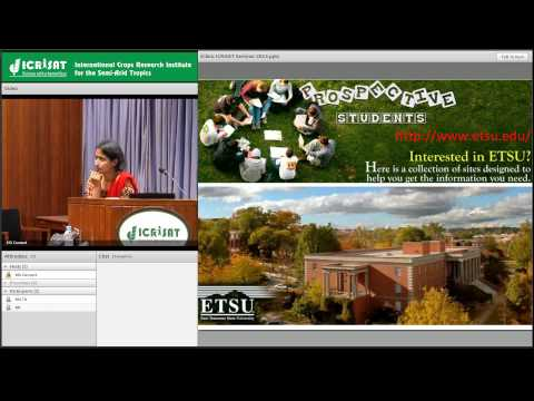 Regulation of oil biosynthesis in oil-rich tissues by Dr Aruna Kilaru