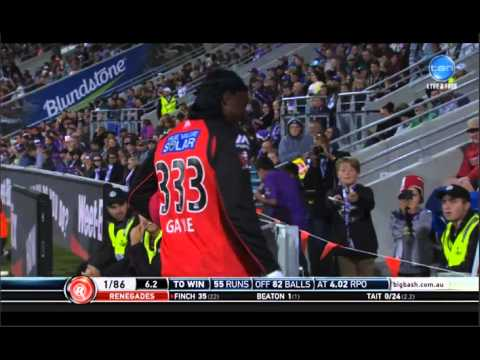 Chris Gayle Interview with Mel Mclaughlin 4/1/16