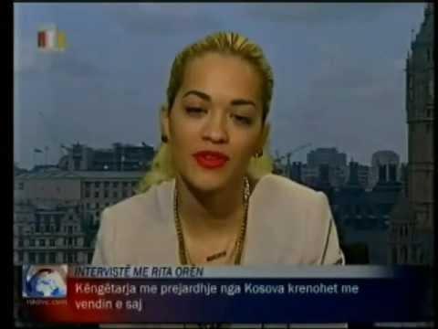 Rita Ora - Intervistë në RTK - 2012