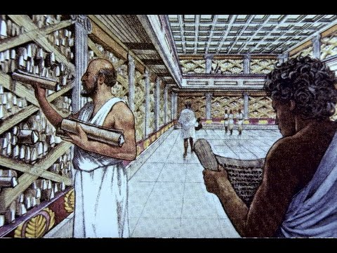 The Ancient Library of Alexandria • Hassan M. Eltaher