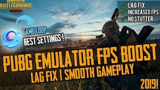 🔧How To Fix Lag And Increase FPS In Gameloop/Tencent PUBG Mobile EMULATOR ✅ Best Settings! | 2019!