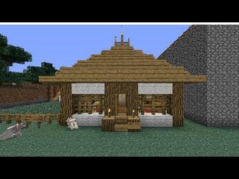 Minecraft xbox 360 tutorial como hacer una casa japonesa for Como aser una casa