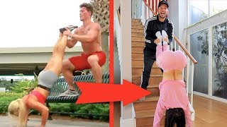 EXTREME FITNESS COUPLE WORKOUT CHALLENGE!!
