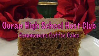 Cutscene Cooking Anime Edition Episode 1 Ouran High School Host Club Commoners Coffee Cake
