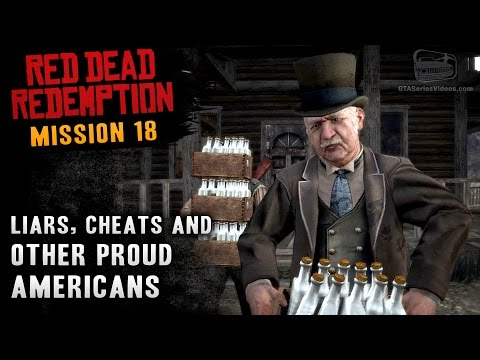 Red Dead Redemption - Mission #18 - Liars, Cheats and Other Proud Americans (Xbox One)