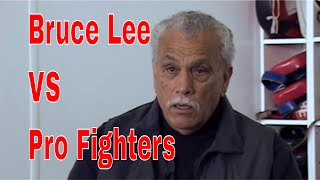 """Bruce Lee VS Pro Fighters: """"He could beat us all, We had no chance"""""""