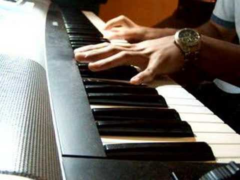 Van Halen - Right Now on piano