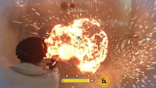 Star Wars Battlefront - Fix The Roll In Place In Battlefront 2!! 55+ Kills With Leia (And The W)
