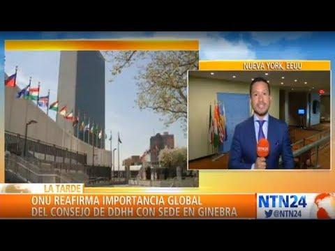 ONU recomienda a EE. UU. no hacer efectivo su retiro del Consejo de Derechos Humanos