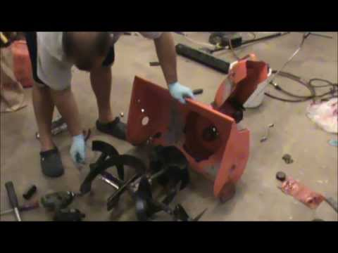 Ariens Snowblower disassembly st504 Part 1