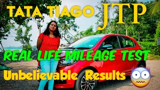 Tata Tiago JTP Mileage Test & First Service Review.